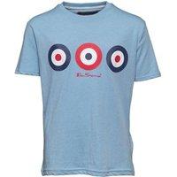 ben-sherman-junior-boys-triple-target-t-shirt-blue-marl