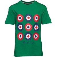 ben-sherman-junior-boys-blurred-target-t-shirt-kelly-green
