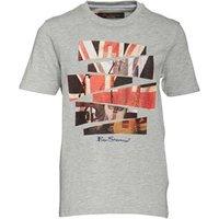 ben-sherman-junior-boys-guitar-london-t-shirt-grey-marl