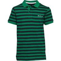 ben-sherman-junior-boys-pique-stripe-polo-kelly-green