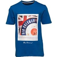 ben-sherman-junior-boys-target-photo-t-shirt-bright-cobalt-blue