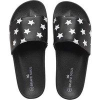 brave-soul-mens-gator-slide-sandals-black