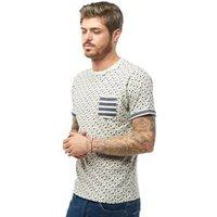 brave-soul-mens-t-shirt-ecru-marl-navy