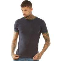 Brave Soul Mens Tallon T-Shirt Navy