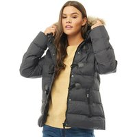 Brave Soul Womens Wizard Puffer Jacket Black