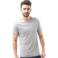 Brave Soul Mens Arkham T-Shirt Grey Marl