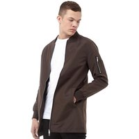 Brave Soul Mens Finnish Mac Jacket Mocha