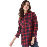 brave-soul-womens-billie-flannel-shirt-red-navy