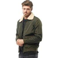 brave-soul-mens-mac-harrington-jacket-with-sherpa-borg-collar-khaki