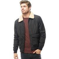brave-soul-mens-mac-harrington-jacket-with-sherpa-borg-collar-black