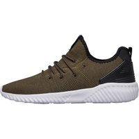 Beck And Hersey Mens Supreme Trainers Khaki