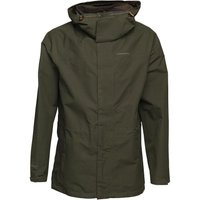Craghoppers Mens Ashton GORE-TEX Long Waterproof Jacket Evergreen