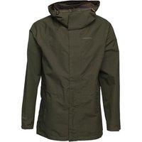 Craghoppers Mens Ashton GORE-TEX Long Waterproof Jacket Evergreen