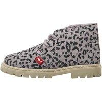 Chipmunks Infant Girls Chloe Suede Leopard Print Desert Boots Leopard