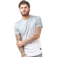 Closure London Mens Splatter Fade T-Shirt Khaki/White