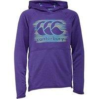 Canterbury Girls CCC Poly Fleece Hoodie Purple Opulence Marl