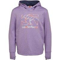 Canterbury Girls Vaposhield Fleece Hoodie Pastel Lilac Marl