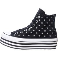 Converse Womens CT All Star Hi Platform Trainers Black/White