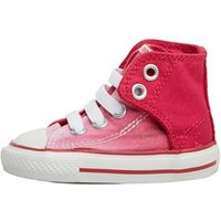 Converse Infant Girls CT All Star Hi Easy Slip Trainers Berry Pink/White