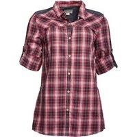 converse-womens-tonia-waist-tie-checked-long-sleeve-tunic-shirt-barberry-multi