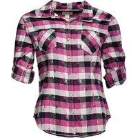 converse-womens-salena-woven-pocket-checked-long-sleeve-shirt-vivid-viola-multi
