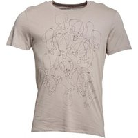 Converse Mens Gluttony Graphic T-Shirt Drizzle