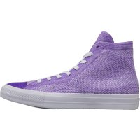 Converse x Nike Flyknit Chuck Taylor All Star Hi Trainers Hyper Grape
