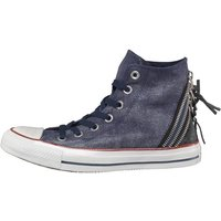 Converse Womens CT All Star Triple Zip Hi Navy