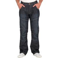 Crosshatch Mens Newport Jeans Darkwash