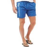Crosshatch Mens Jennis Swim Shorts Monaco Blue