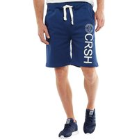 Crosshatch Mens Janter Jersey Shorts Estate Blue