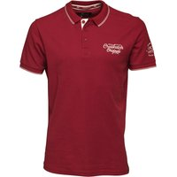 Crosshatch Mens Morristown Polo Sun Dried Tomato