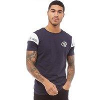 Crosshatch Mens Bellmore T-Shirt Navy