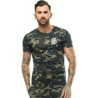 DFND London Mens Base T-Shirt Camo