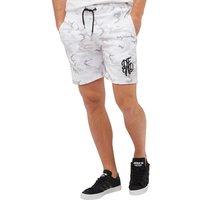 DFND London Mens Farley Shorts White Camo