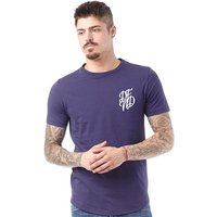 DFND London Mens Base T-Shirt Navy/White