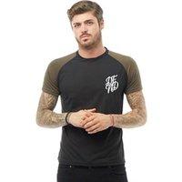 DFND London Mens Bara T-Shirt Black/Khaki/White