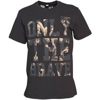Diesel Mens Burt T-Shirt Black