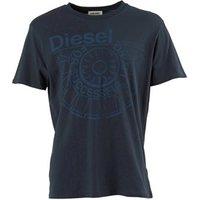 Diesel Mens Ballock T-Shirt Navy