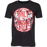 Diesel Mens T-John T-Shirt Black