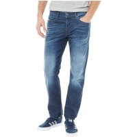 Diesel Mens Buster R842R Tapered Fit Jeans Blue