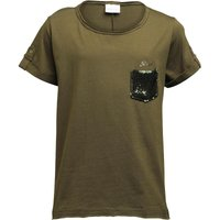 Diesel Girls Tokabi T-Shirt Khaki