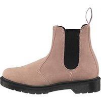 Dr Martens 2976 Hi Suede Chelsea Boots Milkshake