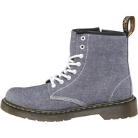Dr Martens Junior Delaney Boots Chambray Blue