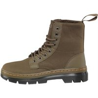 Dr Martens Combs Waxy Canvas Boots Kanga/Grenade Green