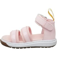 Dr Martens Toddler Girls Marabel Chunky Sandals Baby Pink Patent