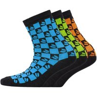 DuFFS Boys Three Pack Socks Multi