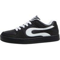 DuFFS Boys Fakie Skate Shoes Black/Black/White