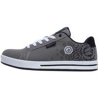 DuFFS Mens Spectrum Print Shoes Charcoal/Black