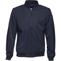 Duck and Cover Mens Rosberg Bomber Jacket Deep Navy
